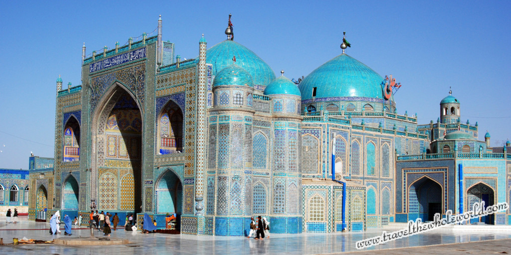 Afghanistan Blue Mosque