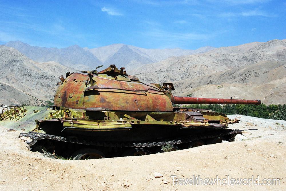 Afghanistan Soviet Tank