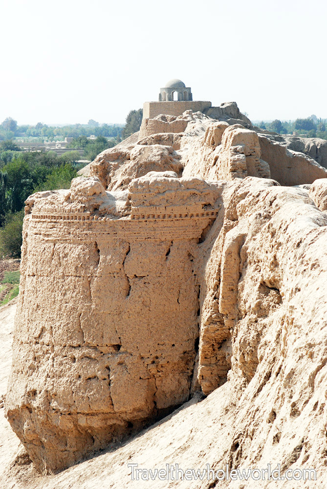 Afghanistan Mazar Sharif Alexander Wall