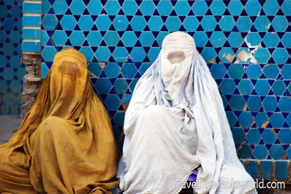 Afghanistan Mazar Sharif Burqas