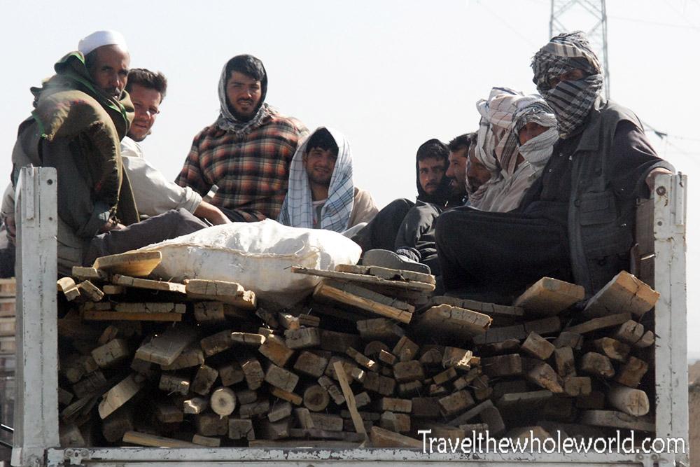 afghanistan truck