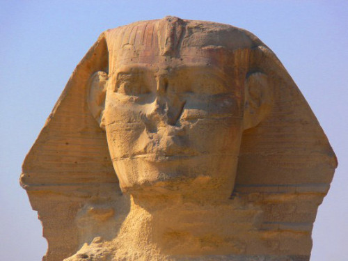 Egypt Sphinx Face