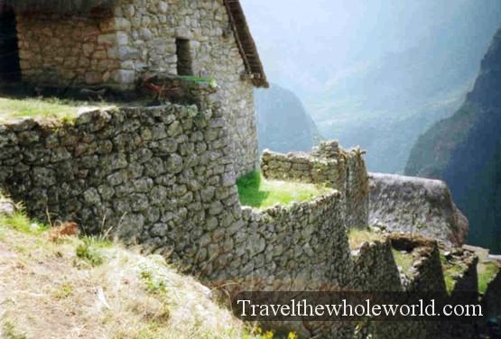 Peru Machu Picchu Wall