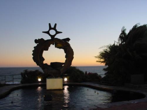Uruguay Ocean Statue
