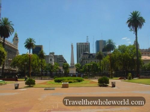 Argentina Buenos Aires Square