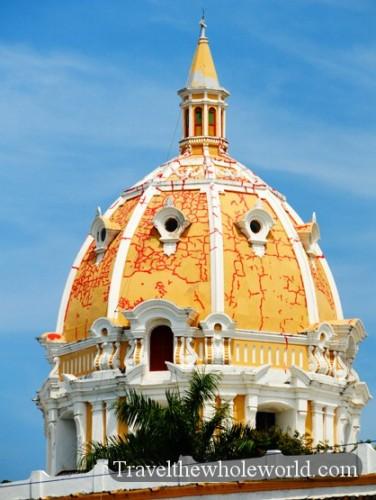 Colombia Cartagena La Iglesia de San Pedro Claver Dome