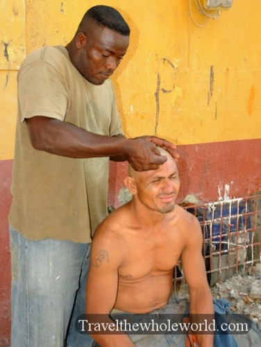 Colombia Haircut