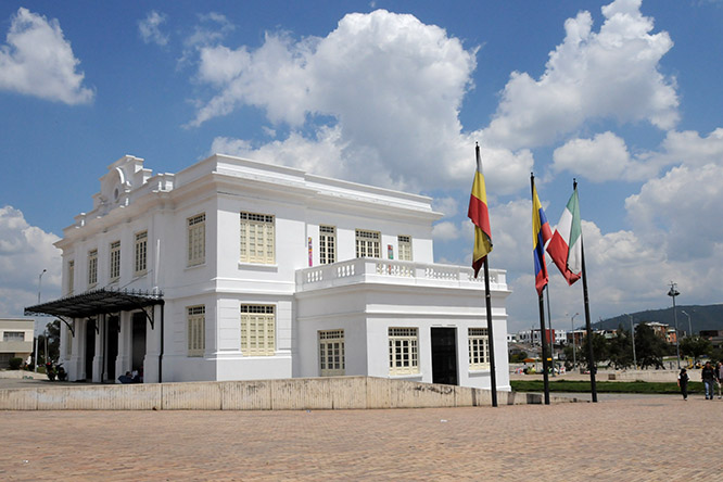 Colombia Zipaquira Governor's House