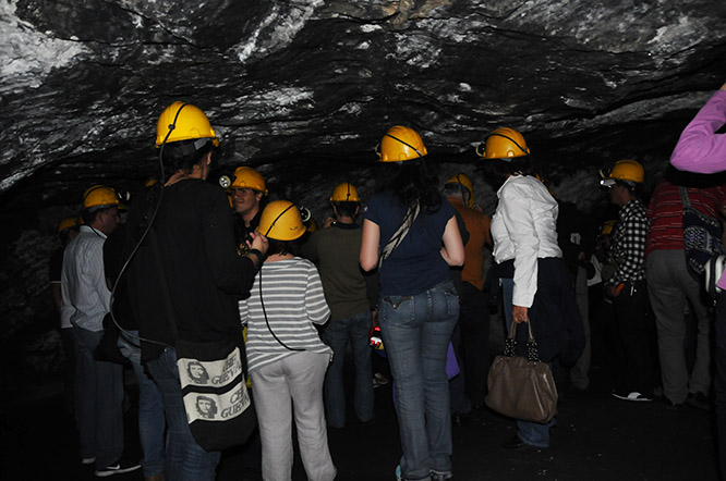 Colombia-Zipaquira-Salt-Cathedral-People