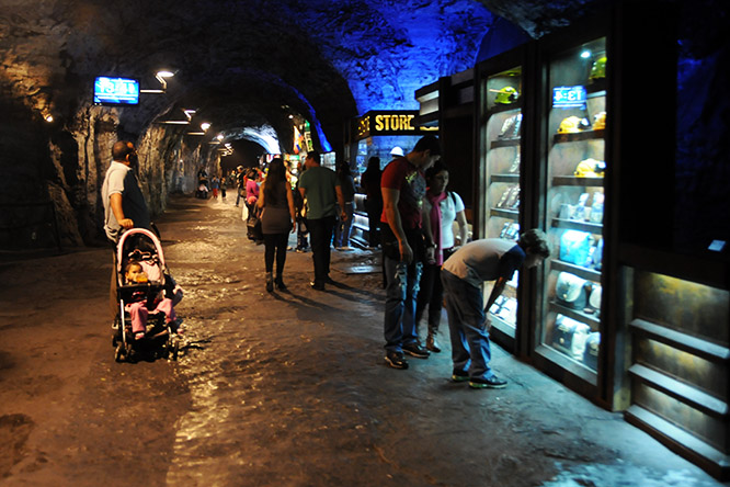 Colombia Zipaquira Salt Cathedral Shop