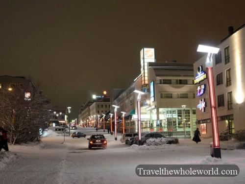 Finland-Rovaniemi-Street