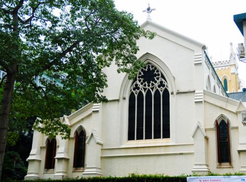 Hong Kong Cathedral Johns
