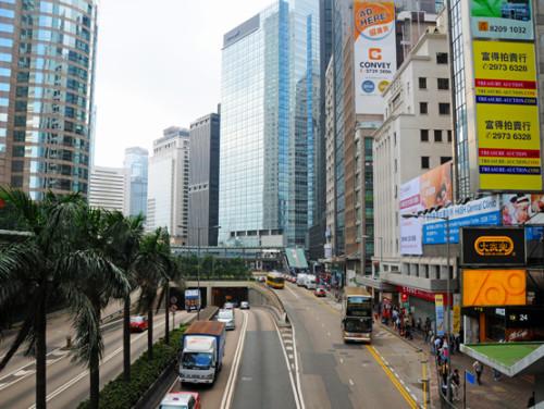 Hong-Kong-Downtown