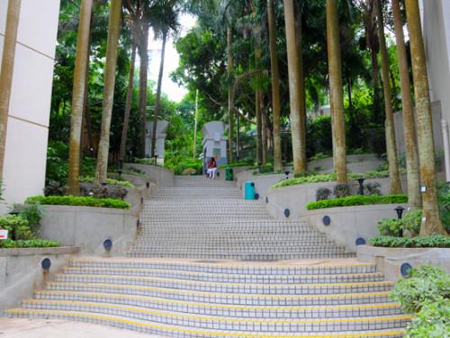 Hong Kong Park Entrance