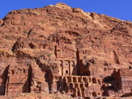 Jordan Petra Building Arch