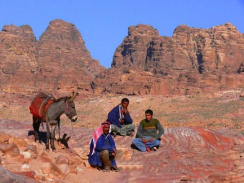 Jordan Petra Jordanians