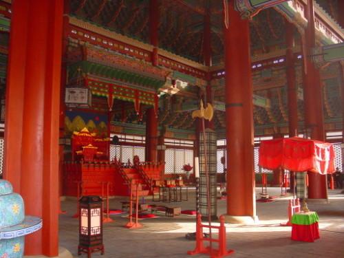Korea  Gyong Palace Room