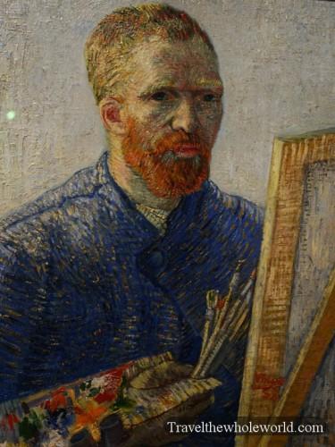 Netherlands-Amsterdam-Van-Gogh-Self-Portrait