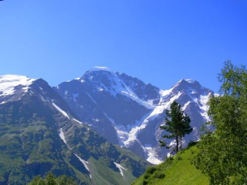 Russia Caucasus Steep  Mountain2