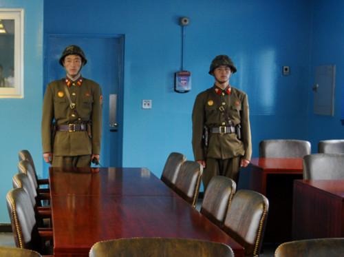 South Korea DMZ Negotiation Room