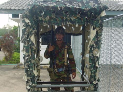 Thailand Military Guard