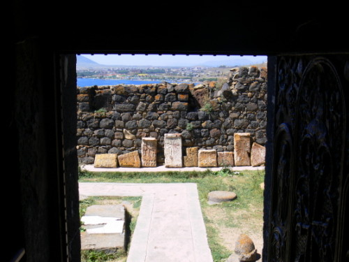 Armenia  Lake Sevan Church Tablets2