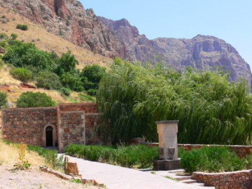 Armenia  Noravank Waterfountain