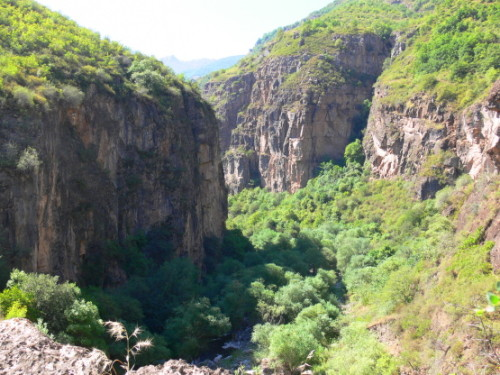 Armenia Vorotan Canyon