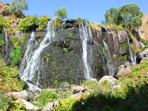 Armenia  Waterfall