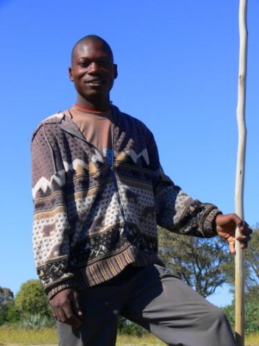 Botswana Boat Man Guide