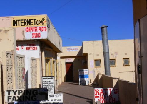 Botswana Francistown Internet Cafe