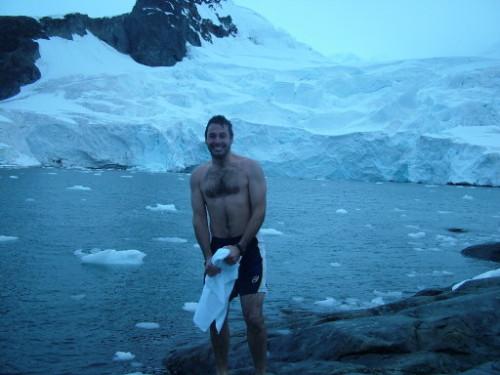 George Kashouh Swim Cold