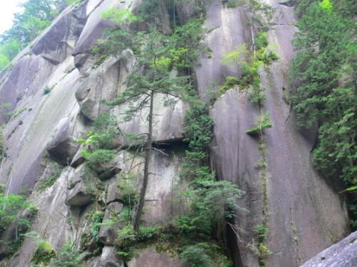 Japan Shosenkyo Cliff