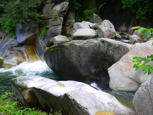 Japan Shosenkyo Creek