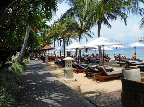 Indonesia Bali Boardwalk