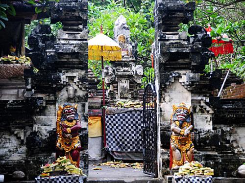 Indonesia Bali Temple Small
