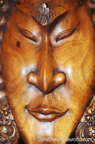 Indonesia Jakarta Market Mask