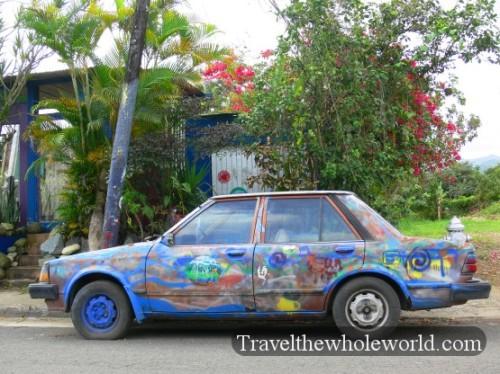 Puerto Rico Crazy Car