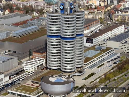 Munich Germany BMW Headquarters