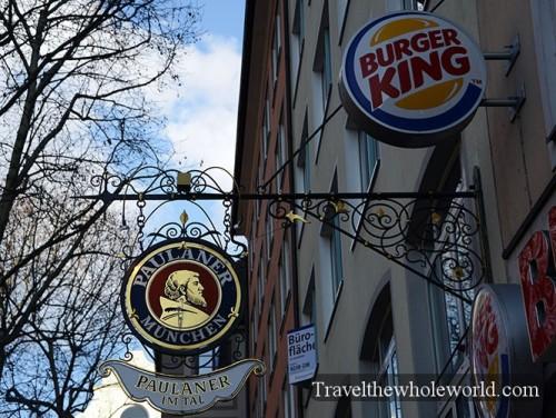 Germany Munich Burger King