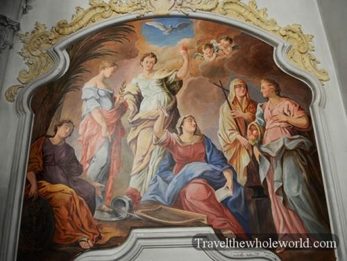 Germany Munich Heiliggeistkirche Church Painting