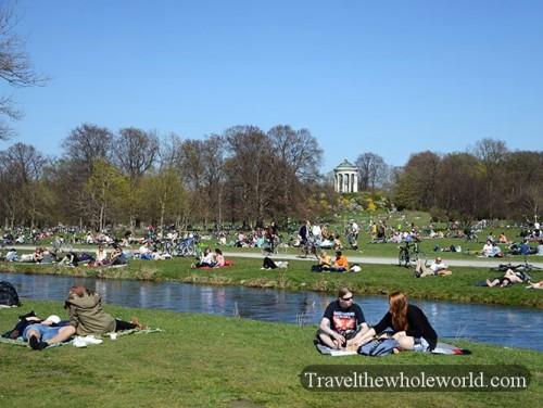 Germany Munich English Gardens