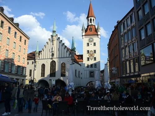 Germany Munich Old City Hall