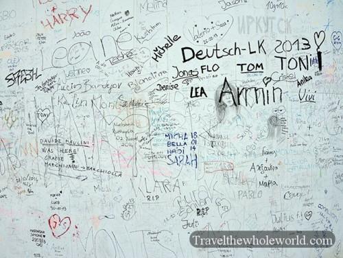 Munich Olympic Tower Graffiti