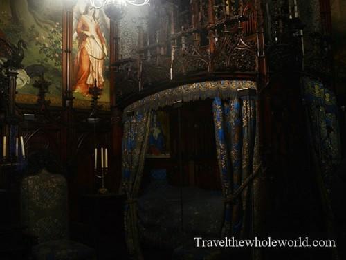 Germany-Neuschwanstein-Castle-Bed-Chambers