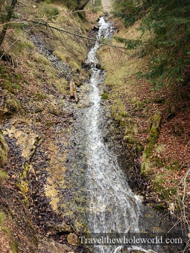 Germany Neuschwanstein Waterfall