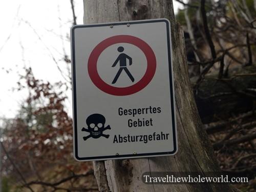 Germany Neuschwanstein Castle Hiking Danger