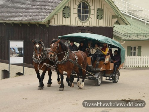 Germany Neuschwanstein Castle Horse & Carriage