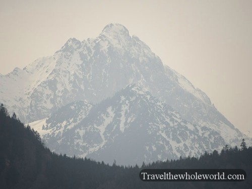 Germany Neuschwanstein Mountain