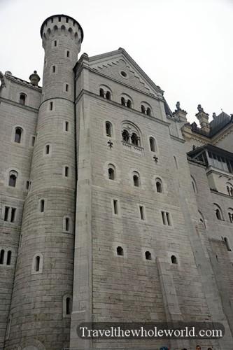 Neuschwanstein Castle Wall
